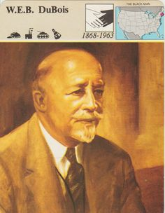 The W.E.B. DuBois 1868-1963  Fact And by vintagepostexchange