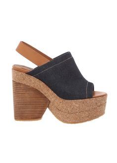 NICE CUT OF THE UPPER, IT IS NICE COMBINATION OF JEANS, WOOD (IN OUR CASE) AND LEATHER