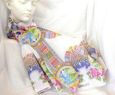 Foulard + Velo de algodon by Lita Blanc, via Flickr