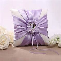 Wedding pillow.