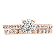 round brilliant with diamond band - Loyes the Engagement Ring Specialists Or Rose, Rose Gold, Brilliant Diamond, Diamond Bands, Dublin, Belt, Engagement Rings, Accessories, Beautiful