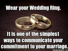 Wedding rings <3 Three bands - Past - Present - Future <3 Husband ...