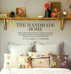 handmade is always good.