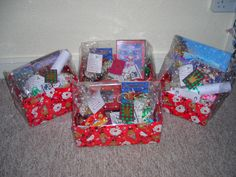 Christmas Box: PJs, movie, snacks, food to make for Santa or reindeers and a book to read before bedtime. All wrapped individual w time or directions of when to open. Maybe even a scavenger hunt for the next present.