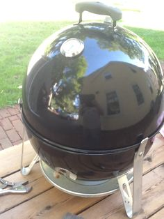 Install tabs on WSM to use as a Jumbo Joe charcoal grill.