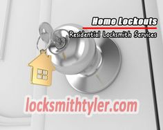 We are available to serve you anywhere and anytime in Tyler, TX 24/7 for all your automotive, residential and commercial locksmith needs.