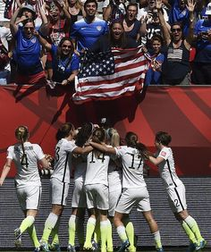USA wins FIFA Women's World Cup 2015