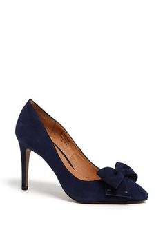 Halogen® 'Marla' Suede Bow Pointy Toe Pump | Nordstrom $99.95 oh wow all of these