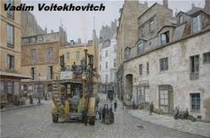 Punking The Past: The Steampunk Aesthetic Of Victorian London In Superb Paintings Of Vadim Voitekhovitch Cyberpunk, Science Fiction, Steampunk Ship, Art Nouveau, Steampunk Illustration, Beyond The Horizon, Victorian London, Victorian Art, Fantasy Castle