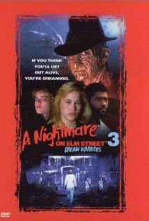 A Nightmare on Elm Street 3: Dream Warriors (1987), New Line Cinema with Patricia Arquette, Heather Langenkamp, and Robert Englund. And a title song by Dokken!!!!