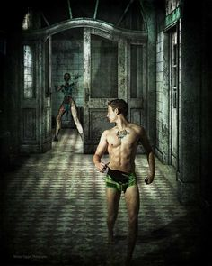 Asylum by Michael Taggart    Halloween is so cool!    Hope your Halloween dreams are filled with sexy men running into your arms……. {g}    Model: Vance Lawson