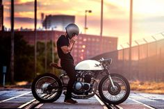 Custom '71 Honda CB500 #cafe by Kinetic Motorcycles https://www.facebook.com/KineticMotorcycles