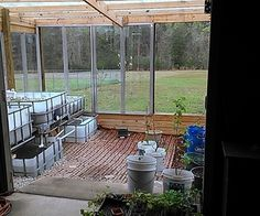 My new greenhouse and aquaponics system - how I built it.