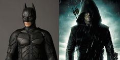 What if Christian Bale's Batman and Stephen Amell's Arrow teamed up? Watch and see...