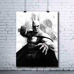 Batman  Batman Print  Batman Poster  DC Comics