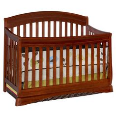 @Overstock - Add a classic touch to your nursery with this cherry crib from Delta. With a timeless design, this convertible durable wood crib can become a day bed.http://www.overstock.com/Home-Garden/Delta-Cherry-Four-in-one-Crib/6996570/product.html?CID=214117 $237.59