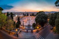 Piazza Del Popolo - Nizar Bredan Photography