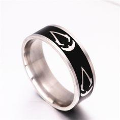 Assassins Creed Titanium Steel Ring