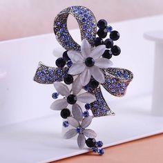 Marca de luxo de Prata Antigo Flores Hijab Pinos Broches Com Melhor Pedra do Olho de Gato Do Vintage Masculino Broche Acessórios Broche