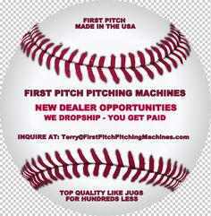 First Pitch Pitching Machines From Sachetti Sports Softball Pitching Machine, Baseball Pitching, Ball Throwing Machine, Cricket Machine, Schools, Soccer, Drop, Football, Free Shipping