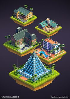 http://www.blendernation.com/2014/07/25/isometric-buildings-city-island-airport-2/