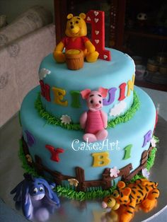 Winnie The Pooh Cake  CakeArt And Sugarcraft All Things Sugar