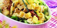Boodschappen - Kipsalade met mango