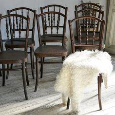 J & J Kohn Bentwood Chairs