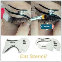 1 pack Perfect Cat Eye & Smokey Eye Makeup perfect stencil
