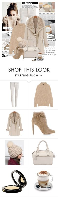 """Brrrrr! Winter Blizzard"" by yexyka ❤ liked on Polyvore featuring Hedi Slimane, TIBI, Gianvito Rossi, Elizabeth Arden, Aroma and blizzard"