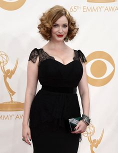 Christina Hendricks continued to rock the redhead cause simply by breathing and standing. | Why 2013 Was The Best Year Ever For Redheads