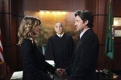 "The wedding of Meredith and Derek on ""Grey's Anatomy"" (2011)"