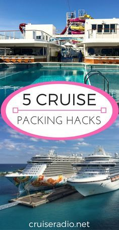 We are always looking for items that make your cruise experience easier. Try these 5 cruise packing hacks.