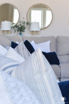 """This season, """"less is more"""" and natural elements are everything! Check out this spring home tour for some warm weather inspiration and to see for yourself."""