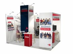 Stand modulaire avec 15m² stand  reconfigurable-33