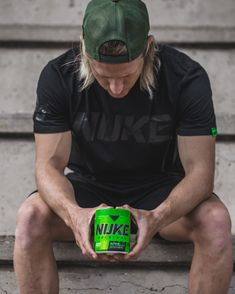 Who's all in on NUKE?! 🐲  The tried and tested extreme pre-workout with one hell of a kick at 300mg caffeine. Combined with powerful pump precursors, creatine for strength and with zero sugar or artificial colourants; don't take this bad boy before bed! Weight Training Gloves, Mass Builder, Lifting Straps, Hydration Bottle, Energy Shots, Knee Wraps, Beta Alanine, Mass Gainer