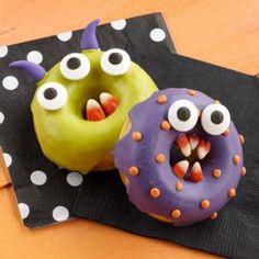 Monster Chomper Halloween Doughnuts