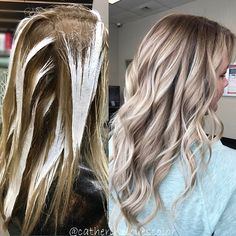 Rooty✖️Balayage I used @oligopro black light clay lightener and 40vol no heat for 30 minutes with @olaplex, glazed with @redken5thave