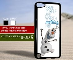 Olaf quote frozen Disney - Ipod 5 Case   TheYudiCase - Accessories on ArtFire