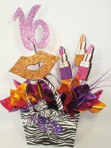 birthday-centerpiece-lipstick-lips-zebra