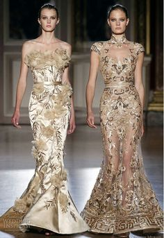 Zuhair Murad chinese-inspired wedding dresses