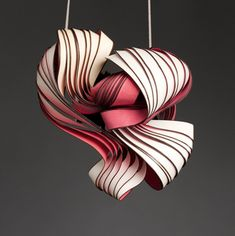 Paper jewelry by lydia hirte