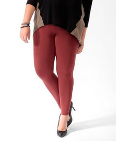 I already have a pair. Love these .. Basic Knit Leggings | FOREVER 21 - 2077040358