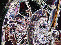 "Harly-Davidson Hub 1-2   Gift Print on Fine Art Paper 20""x30"" $145 Marv Lyons - 619.691.8776"