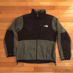 Black and Grey North face Denali jacket Black and grey Denali (I think the name is Denali!)  jacket from north face. great condition, really warm and versatile. If you are interested please make an offer! I just have so much stuff in my closet and I gotta get rid of some things North Face Jackets & Coats