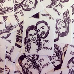 Custom Portrait Tattoo @lilimandrill www.lilimandrill.fr #etsy #EtsyGifts #bachelorette #etsywedding #wedding #bride #couple #giftforcouple #DifferenceMakesUs #tattoo #temporarytattoo #favor #weddingfavors #party #personalizedgift #uniquegift