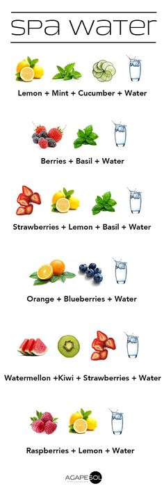 Stay hydrated! Adding stuff like fruits, vegetables, and herbs to your water makes it easier and fun to drink up