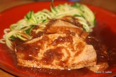 BBQ-Schweinelachs aus dem Crocky   Crockpot BBQ Pork Loin / sabo (tage) buch