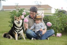 Cute Dog and Kid Pairing = Maru in Michigan Menswear Dog, Spitz Breeds, Feel Good Pictures, Japanese Dogs, Lovely Creatures, Dogs And Kids, Wild Dogs, Shiba Inu, Funny Cute