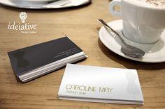 Cartão de Visitas Estilista Caroline May